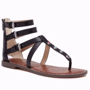 NEW Sam Edelman Genevive Studded Gladiator Sandal